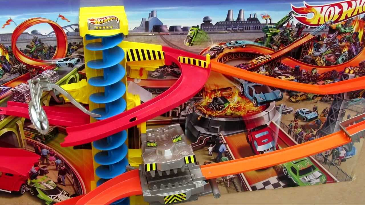 hot wheels spiral tower instructions