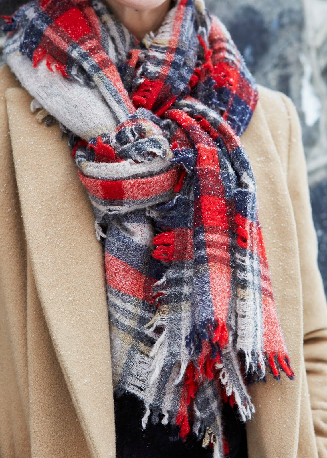 Youtube how to wear a winter scarf