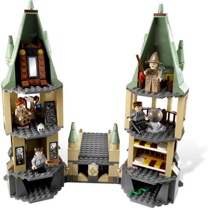 harry potter lego instructions hogwarts castle 4867