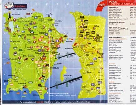 Map of georgetown penang pdf
