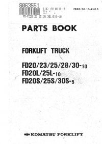 komatsu 25 forklift manual pdf