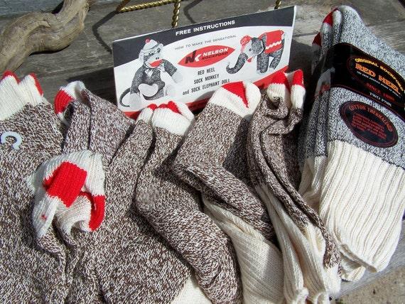 rockford red heel sock monkey instructions