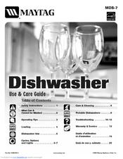 maytag portable dishwasher manual mdc4650aww