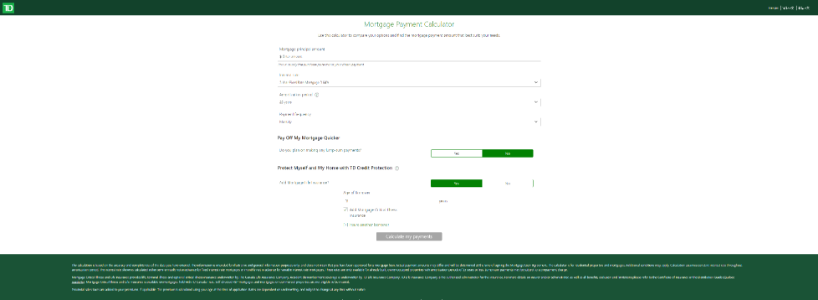 Td canada trust online loan application