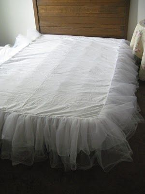 Instructions for making a bedskirt