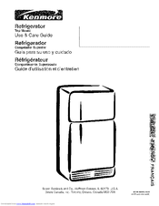 kenmore freezer model 970 manual