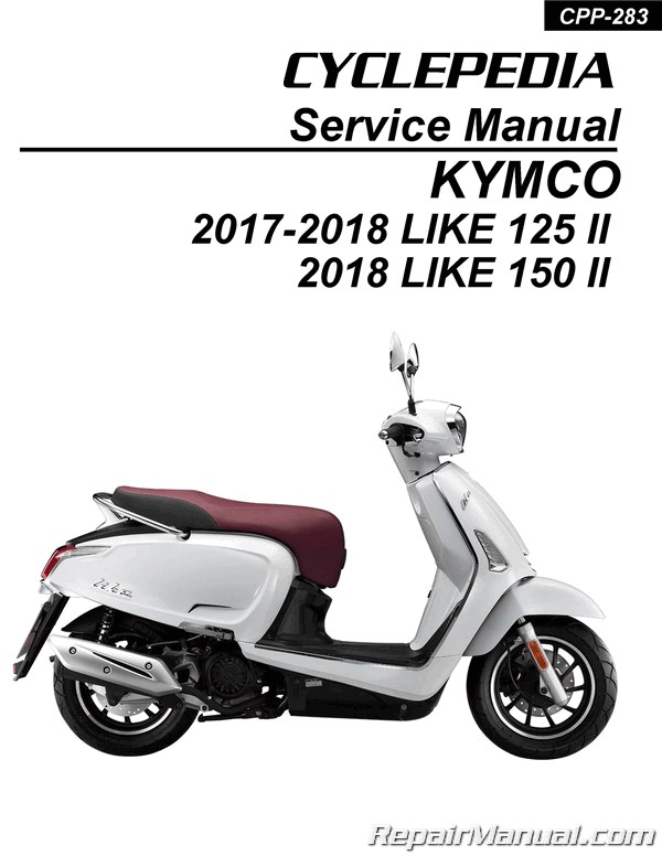 kymco like 200i service manual
