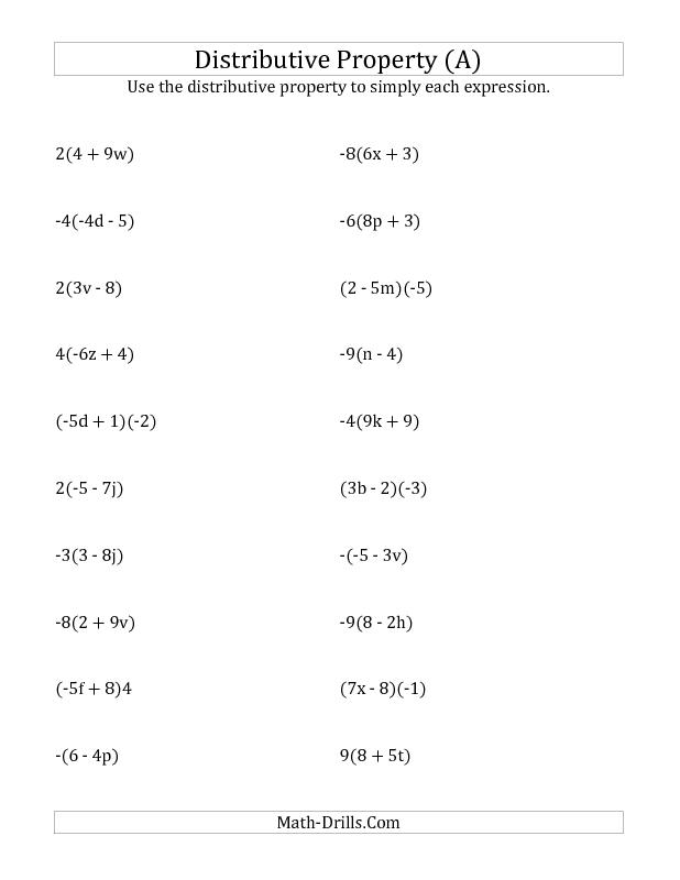 Grade 8 algebra worksheets pdf