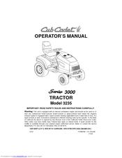cub cadet 3235 service manual