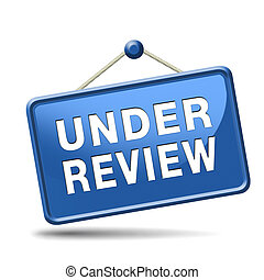 Under review meaning job application