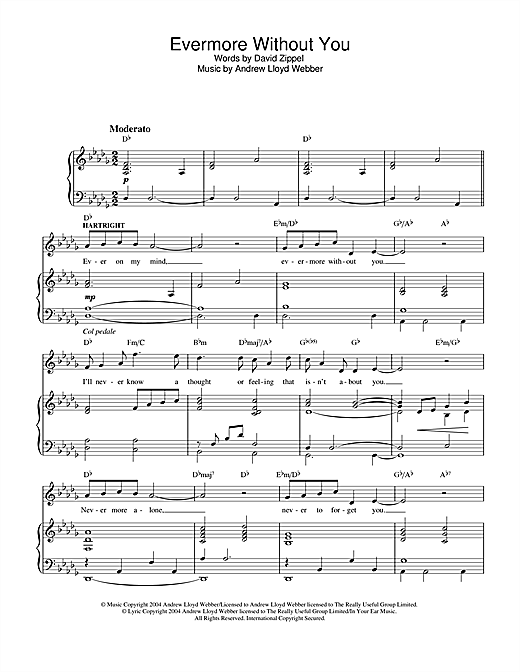 Evermore sheet music pdf free
