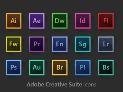 Adobe application suite for business