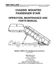 Aircraft ground support equipment manual