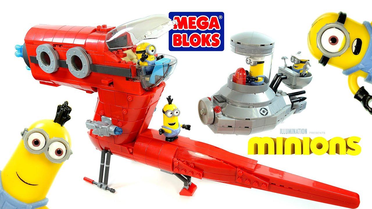 mega bloks build a minion instructions