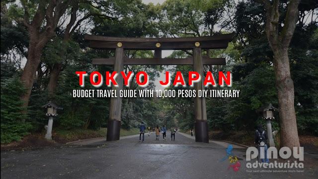 Filipino tour guide in tokyo