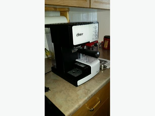 oster prima latte espresso maker manual