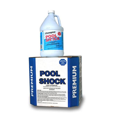 pool shock treatment instructions