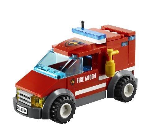 lego city fire van instructions