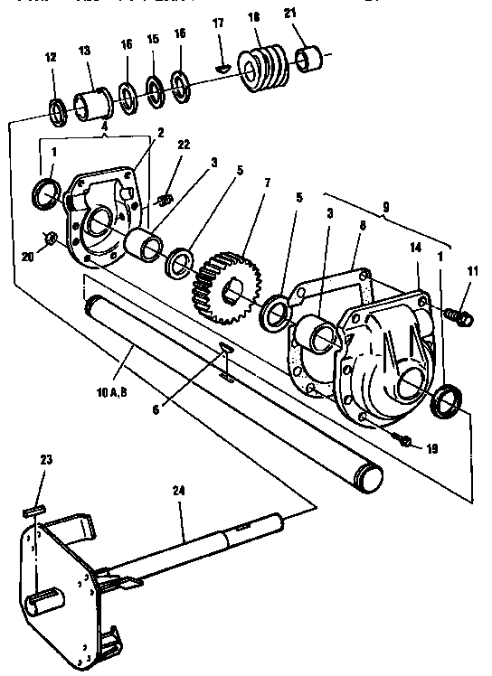 sears craftsman snowblower manual c950