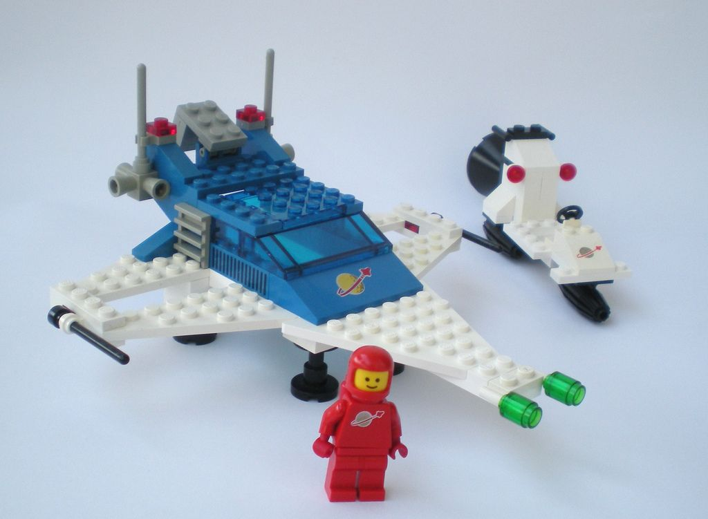 retro space lego instructions