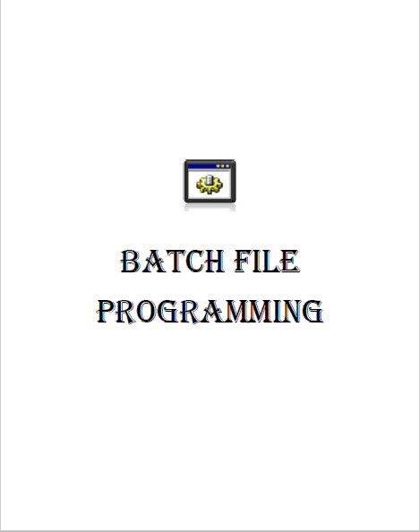 The ultimate batch file book pdf