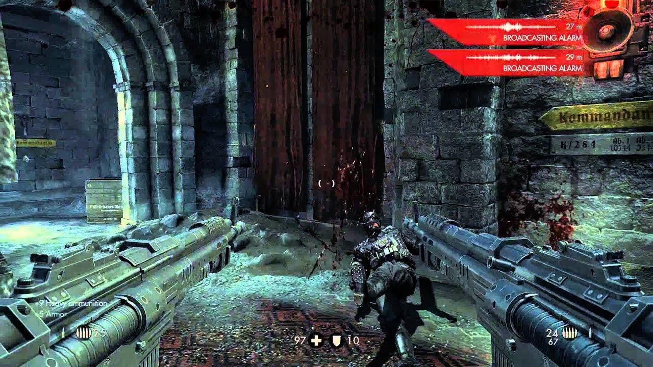 Wolfenstein how to kill deathshead