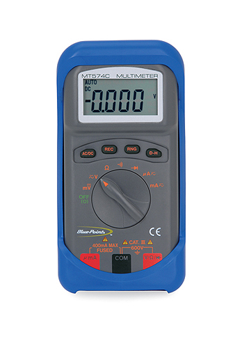 blue point multimeter eedm503b manual