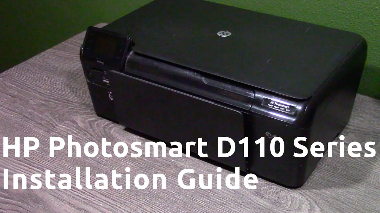 hp photosmart b110 series manual