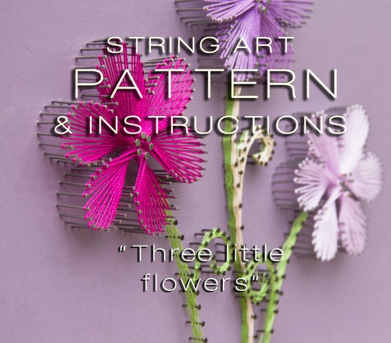 Free string art patterns with instructions