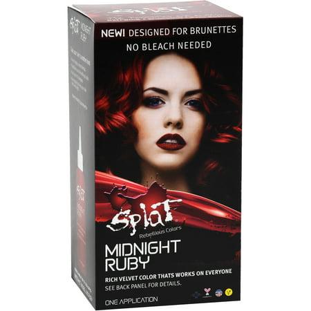 Splat hair color instructions