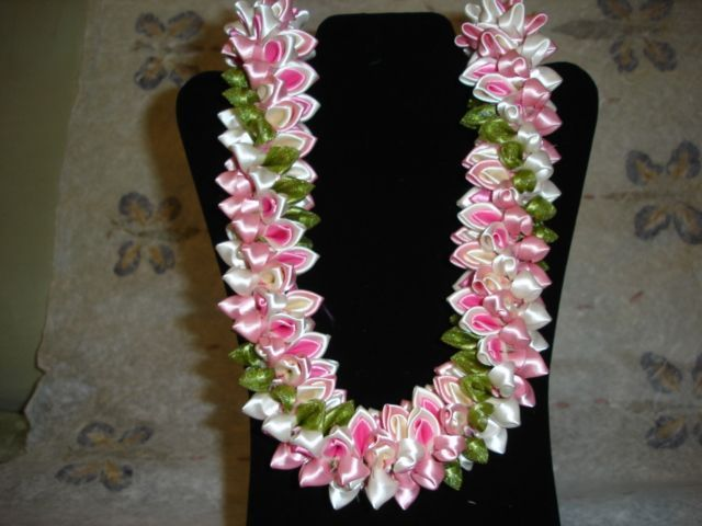 ribbon lei instructions online