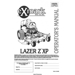 exmark lazer z 60 owners manual