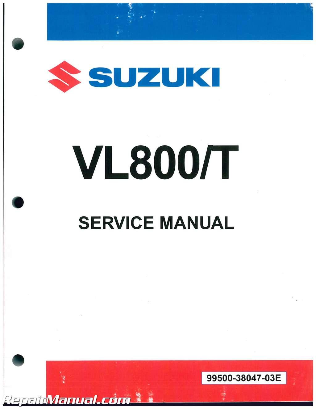 2001 suzuki marauder 800 service manual