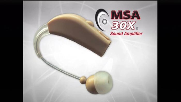 msa 30x sound amplifier instructions