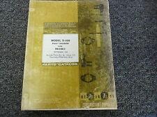 International 500c dozer service manual