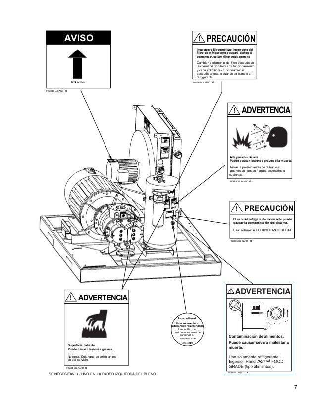 Ingersoll rand vr90b parts manual