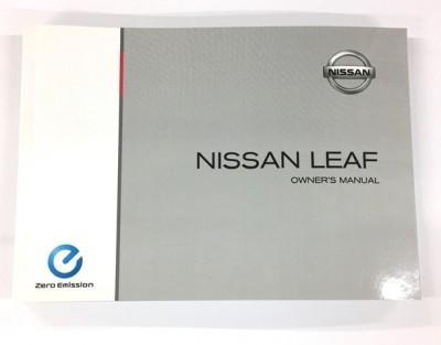 Nissan leaf owners manual uk