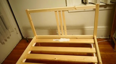 ikea bed crosspiece assembly instructions