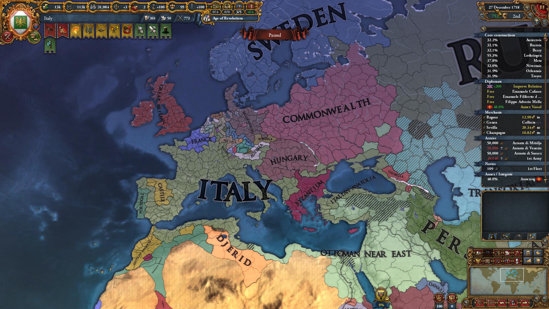 Eu4 how to get pu to integrate vassals