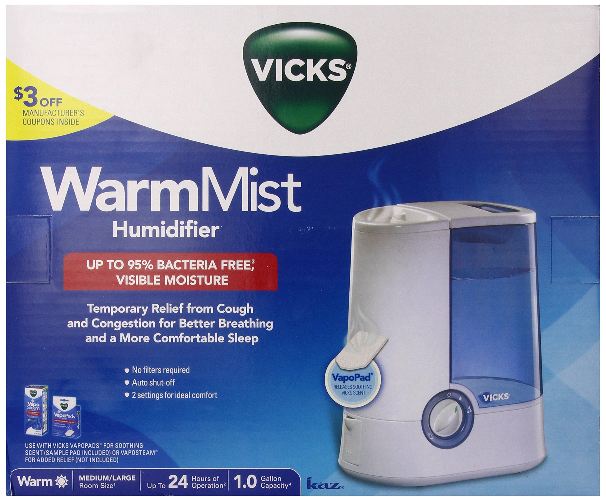 Vicks mist humidifier instructions