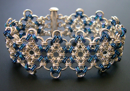 free chain maille bracelet instructions