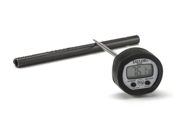 Taylor digital meat thermometer manual