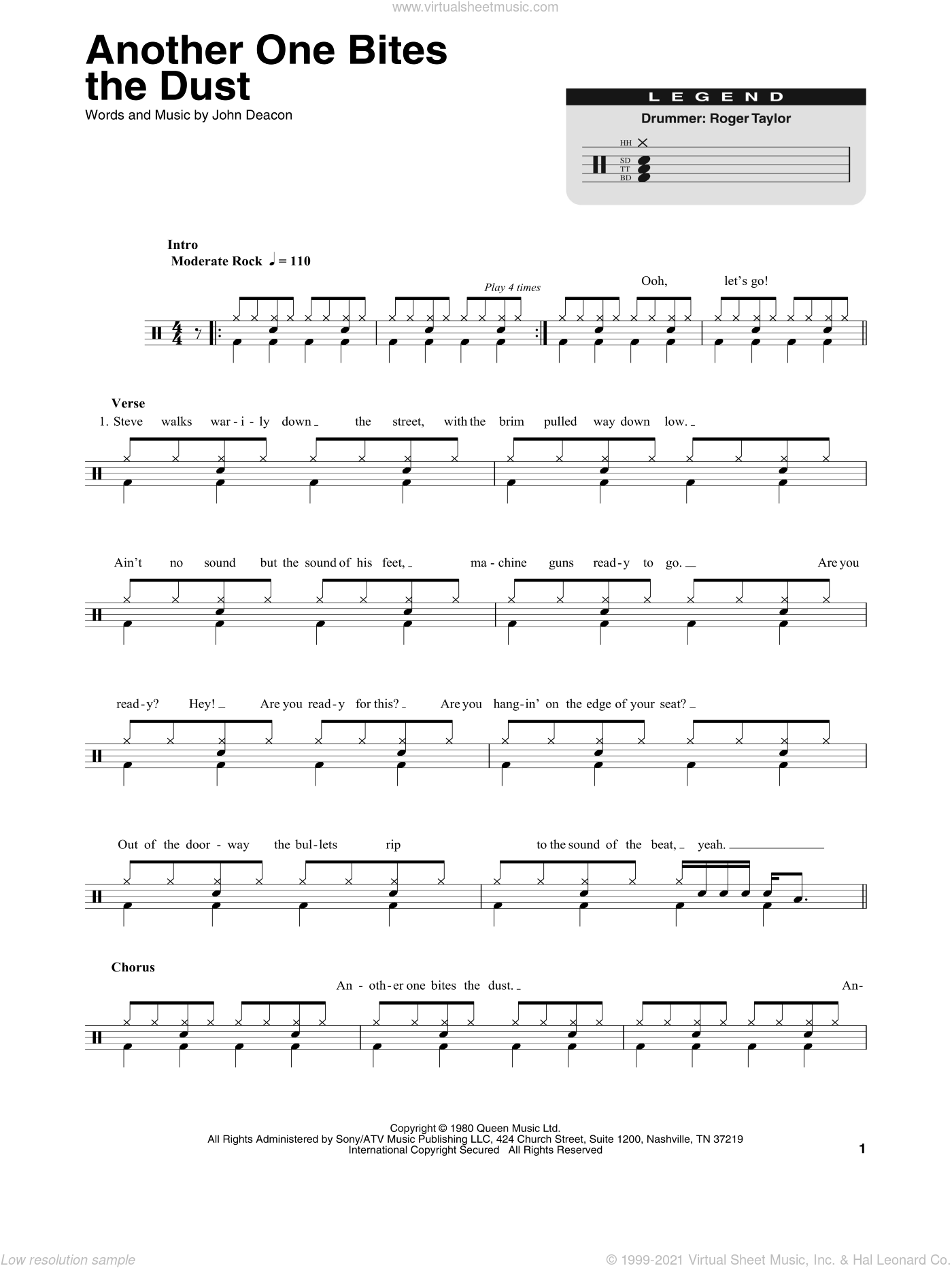 Queen one vision tab pdf