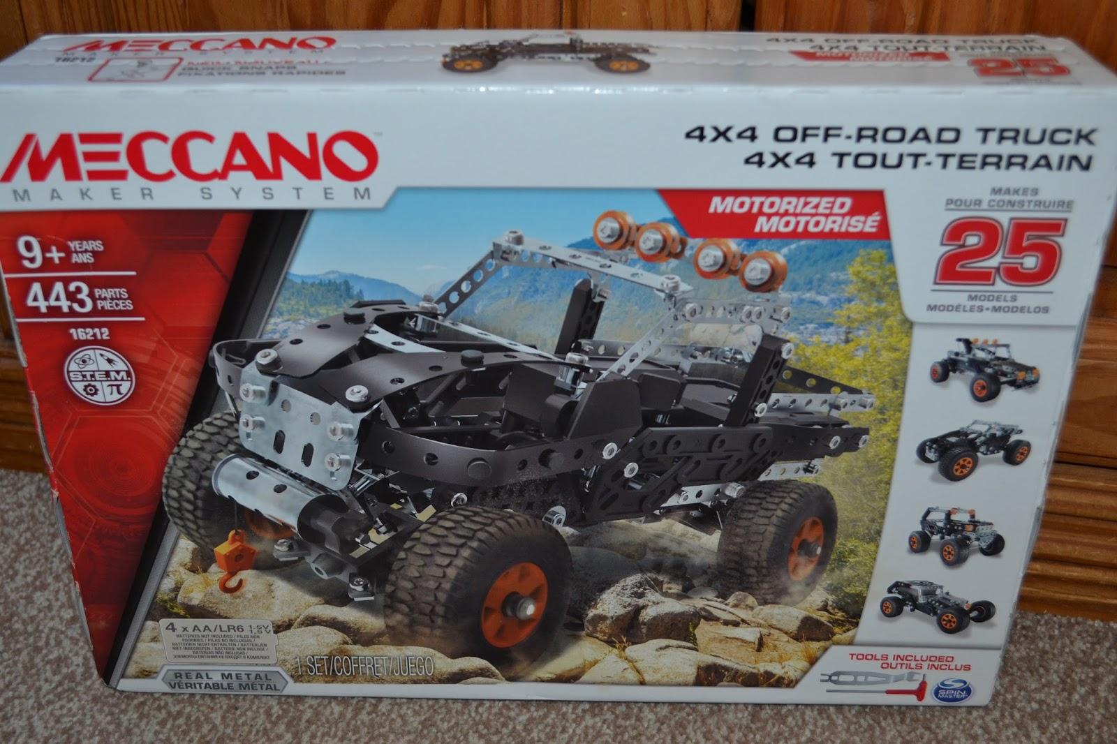 meccano 4x4 off road truck instructions