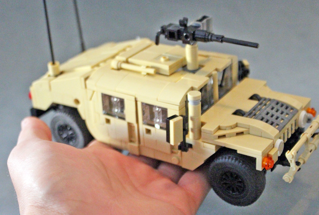 Lego army humvee instructions