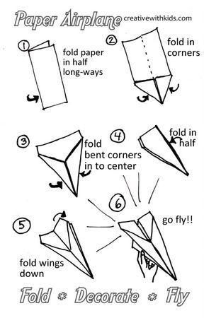 farthest flying paper plane instructions