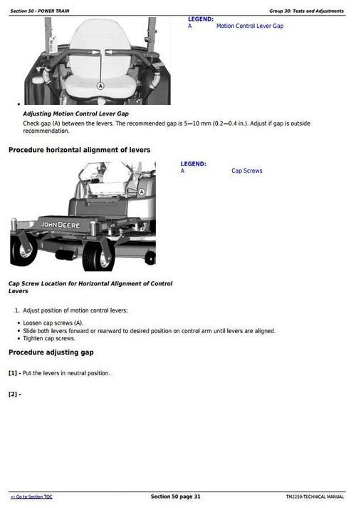 john deere ztrak 997 manual