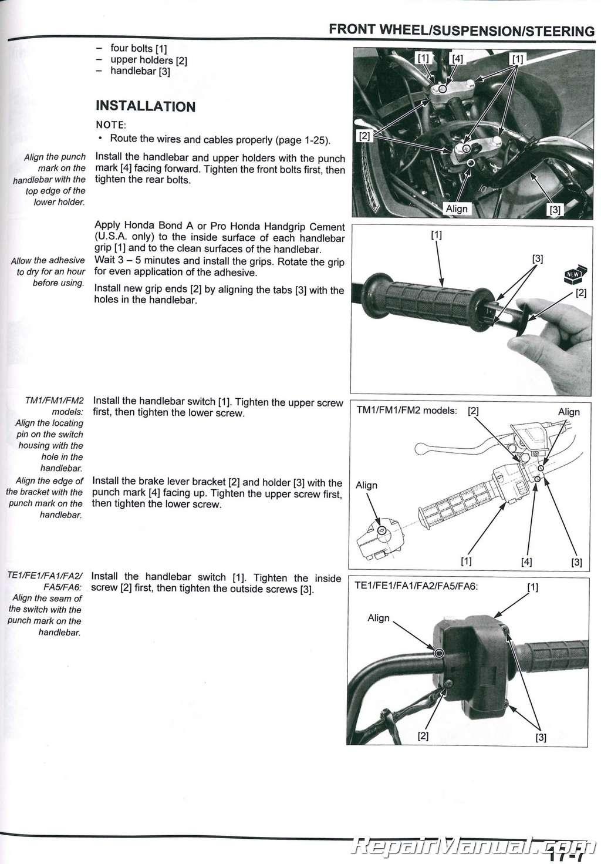 Honda trx 420 service manual pdf
