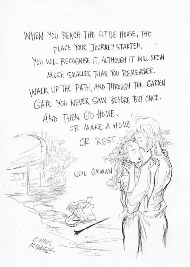 instructions by neil gaiman lesson plans