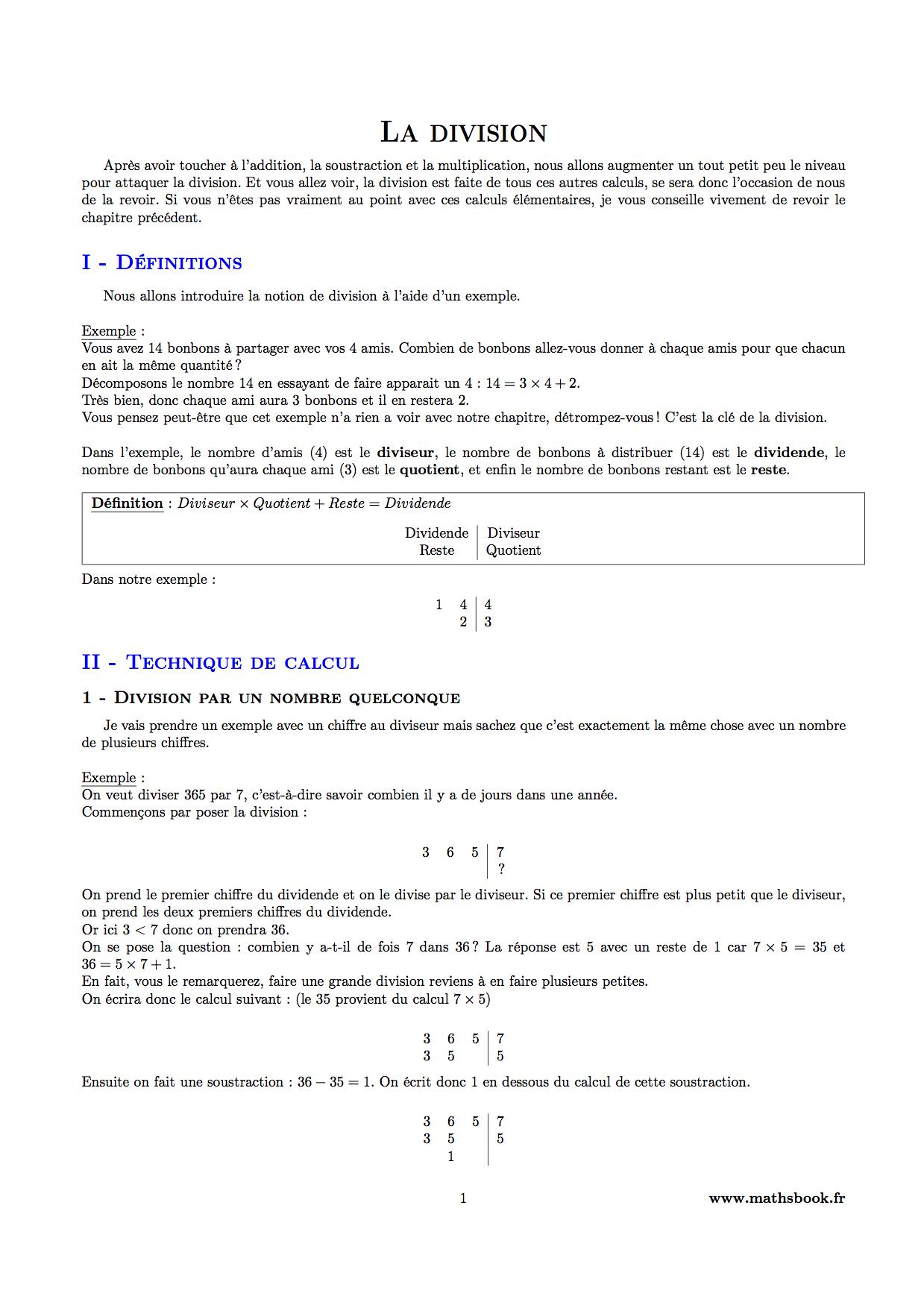 Exercice dallage 6ieme math pdf